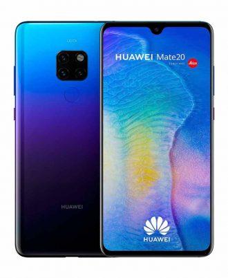 smartphones peru huawei mate 20 128gb twilight venta celulares peru tienda 01