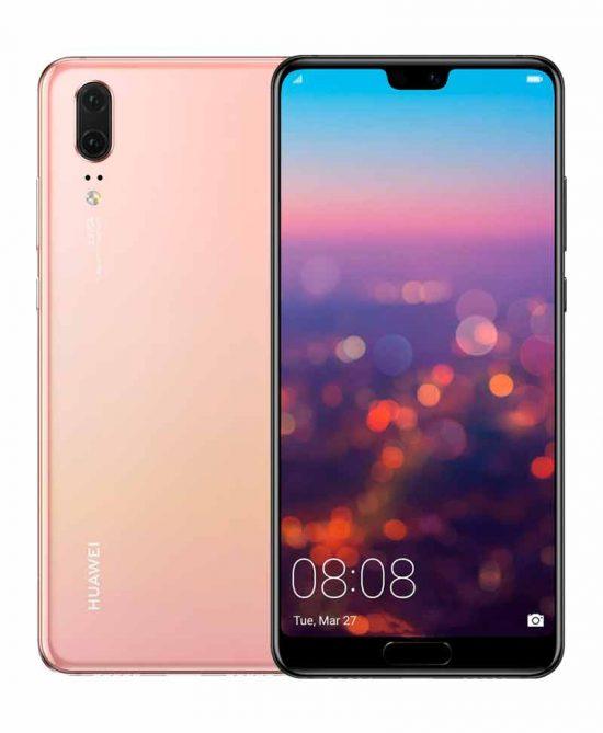 smartphones peru huawei p20 128gb rosado venta celulares peru tienda 01