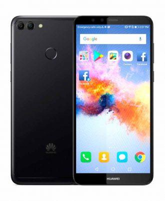 smartphones peru huawei y9 2018 32gb negro venta celulares peru tienda 01