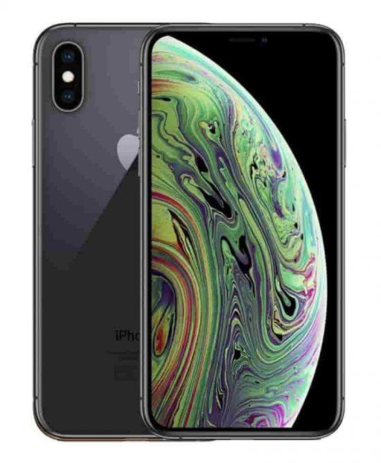 iphone xs silver smartphones peru 1