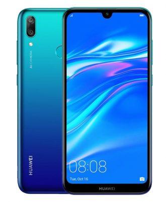 smartphones peru huawei y7 2019 azul