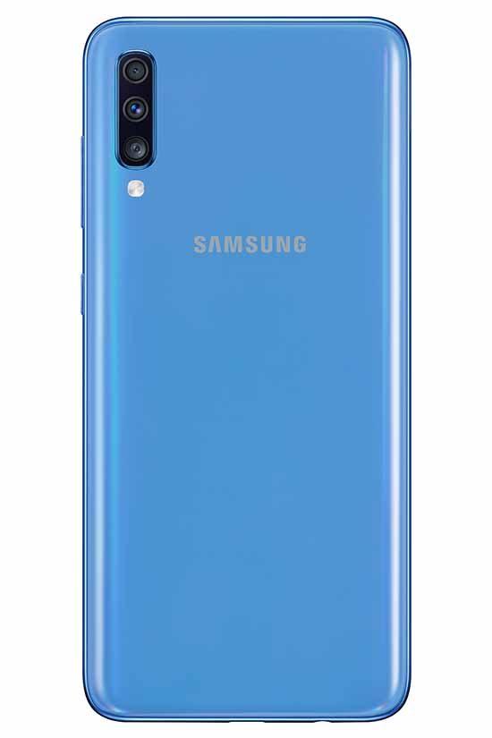0004 samsung galaxy A70 azul 2 Smartphonesperu venta de celulares y servicio tecnico