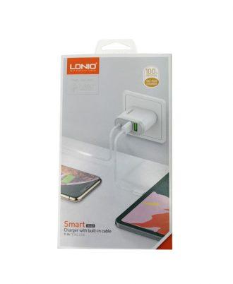 SMARTPHONESPERU cargador ldnio smart v8 usb 3