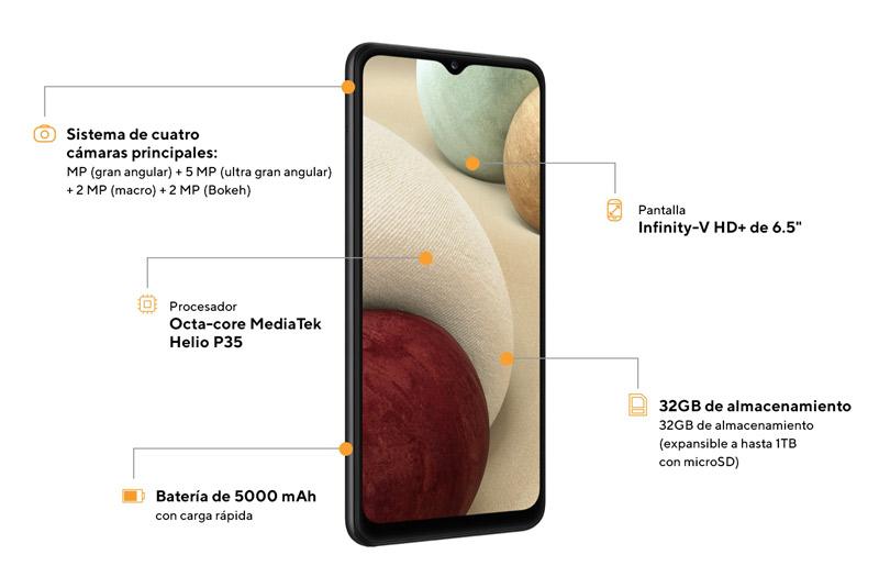 samsung galaxy a12 smartphones peru servicio tecnico de celulares y venta de celulares liberados