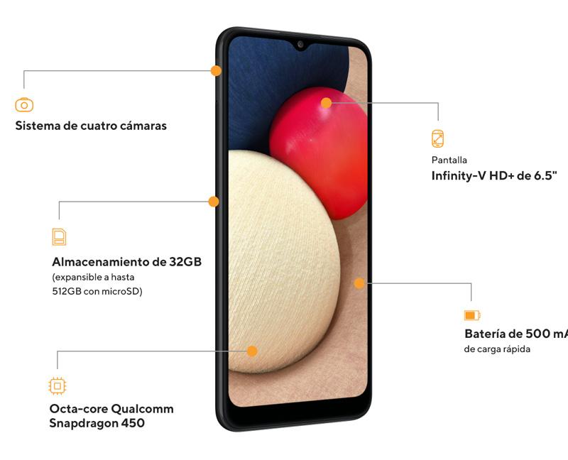 samsung galaxy a02s smartphones peru servicio tecnico de celulares y venta de celulares liberados