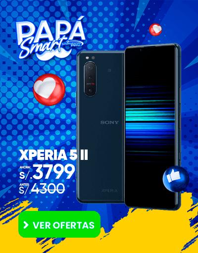 oferta del sony xperia 5 II por el dia del padre smartphones peru venta de celulares y servicio tecnico