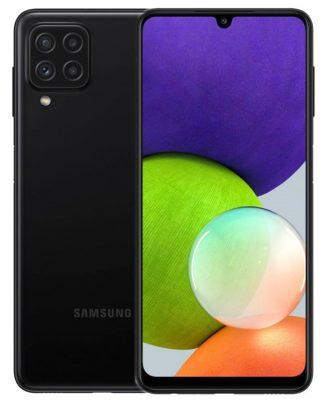 Samsung Galaxy A22 64GB Black 8806092287822 15072021 01 p