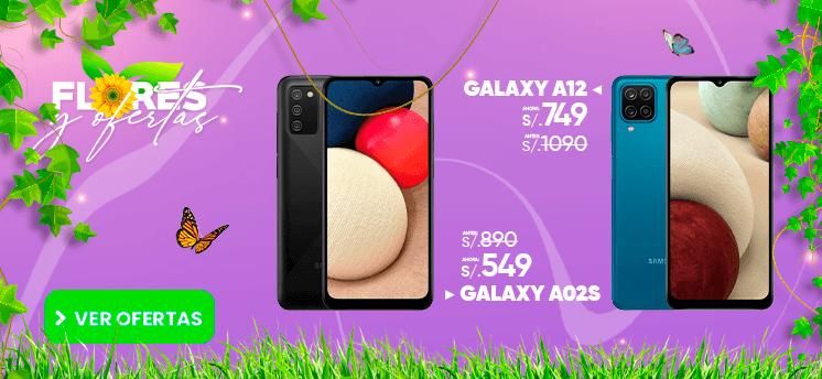 Galaxy A12 Galaxy A02s smartphones peru venta de celulares y servicio tecnico en General