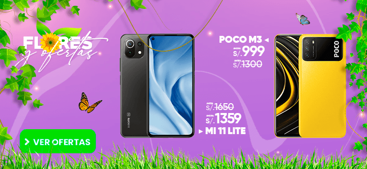 Xiaomi Mi 11 Lite Poco M3 smartphones peru venta de celulares y servicio tecnico en General